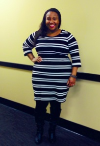 Forever 21 Retro Striped Sweater Dress